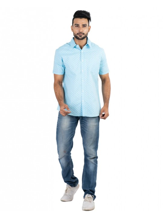 100% Cotton All over Printed Shirt