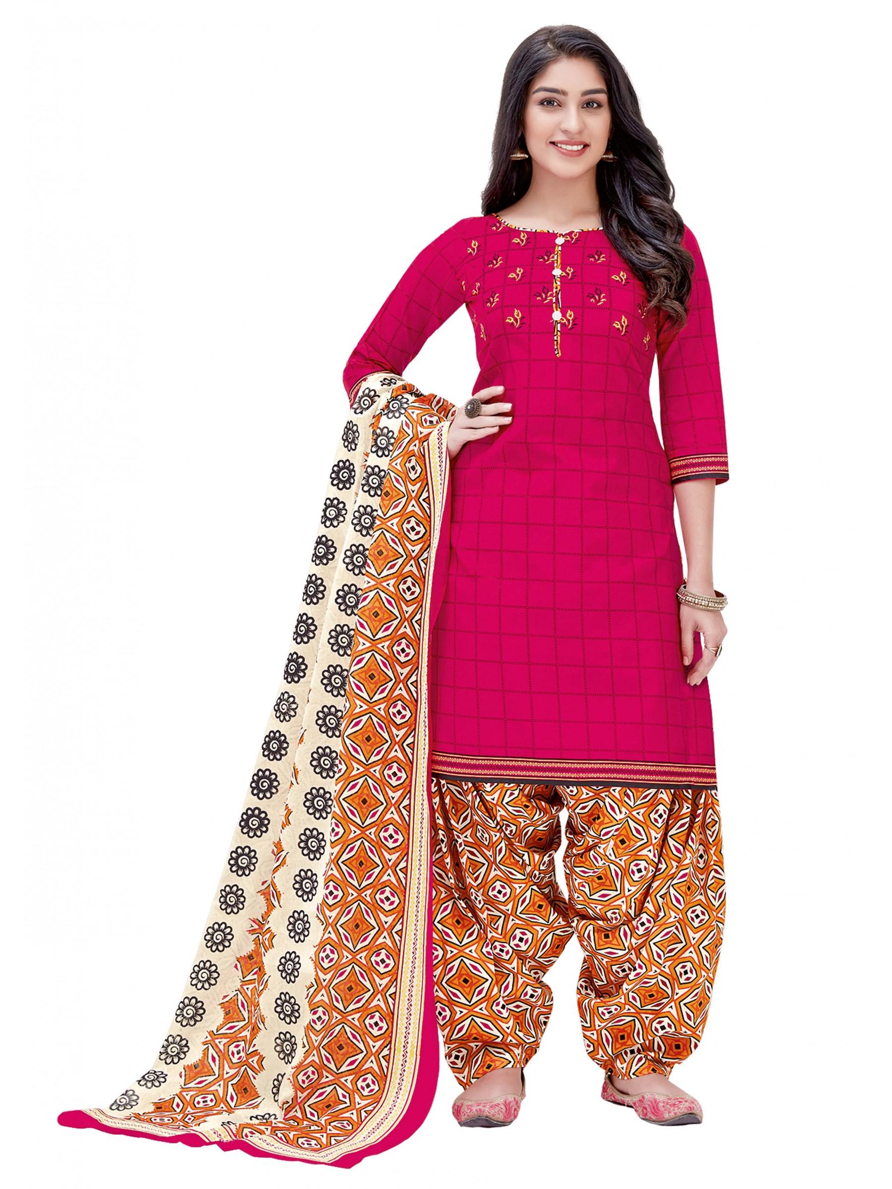 Shree Ganesh Women Cotton Un-stitched Dress Material